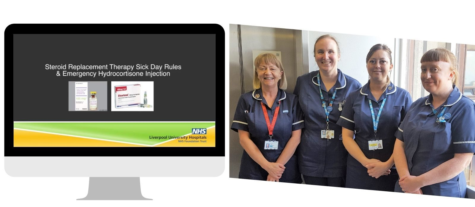 Liverpool Nurses produce video for adrenal insufficiency patients