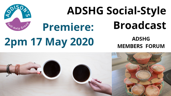 ADSHG Online Social-Style  Broadcast - Available to watch on demand