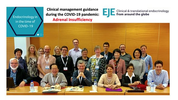 EJE Guidance: Managing Adrenal Insufficiency in the time of COVID-19 - 21/04/2020