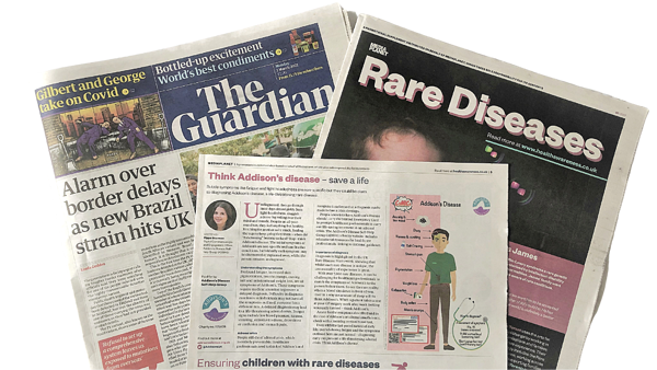 ADSHG in The Guardian - Rare Diseases edition!