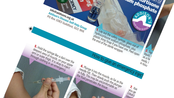 How to give an emergency injection - leaflets for your kit
